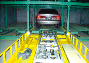 Horizontal Moving Parking Equipment, CE Certification