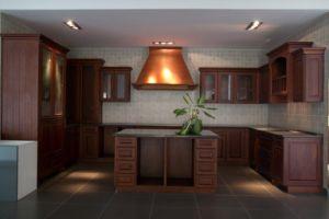 Kitchen Furniture Birch Wood Cabinet pictures & photos