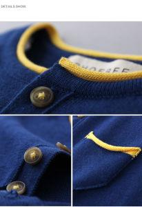 100% Cotton Boys Clothing Children Clothes for Spring/Autumn pictures & photos