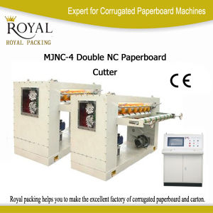 Computer Control with Alloy Spiral Knife Machine Used for Paperboard Cutter pictures & photos
