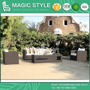 Rattan Sofa Set Wicker Sofa Combination Sofa Patio Furniture Hotel Project Garden Furniture Sofa Outdoor Furniture Leisure Sofa P. E Wicker Sofa pictures & photos