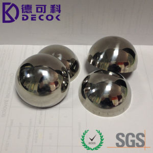 51mm 76mm 60mm 63mm Hemisphere Stainless Steel Ball pictures & photos