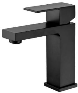 Australian Standard Watermark Modern Brass Black Bathroom Mixer (12C-101/B) pictures & photos