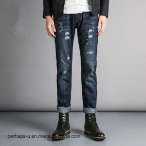 2016high Quality Fashion Clothes Men′s Ripped Jeans pictures & photos