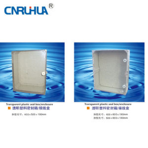 Plastic Distribution Box with Transparent Lid2 pictures & photos