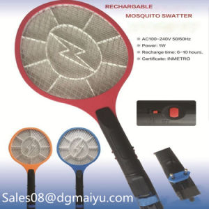 Rechargeable Electric Mosquito Beat (with a lamp) Mosquito Killer pictures & photos