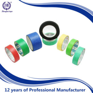 Car Painting Rubber Glue Crepe Paper Masking Tape pictures & photos