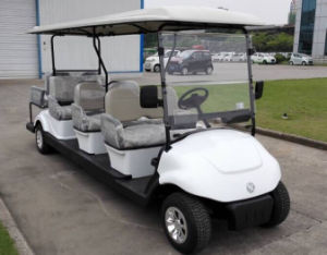 Attractive Prices 8 Back Seat Electric Golf Kart Made in China