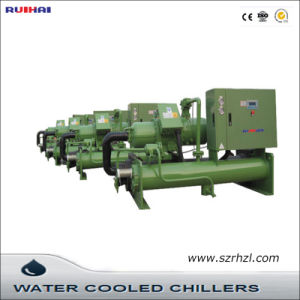Low Temp Water Cooled Screw Type Water Chiller pictures & photos