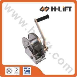 Stainless Steel Manual Hand Winch pictures & photos