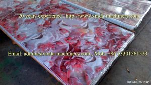 PVC Artificial Marble Sheet Extrusion Line pictures & photos
