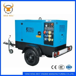 Factory Sales Trailer Silent Soundproof Diesel Generator Set