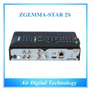 Zgemma Star 2s FTA DVB-S2 MPEG-4 Full HD Digital Satellite Receiver DVB S2 Twin Tuner with IPTV pictures & photos