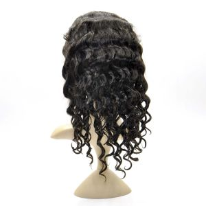 "Brazilian Virgin Hair Front Lace Wigs (16"" Inch-Deep wave) pictures & photos"