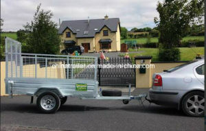 8X5 Galvanised Box Trailer with Tarps pictures & photos