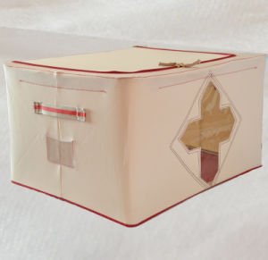 55liter Cardboard Polyester Material Window Folding Box pictures & photos
