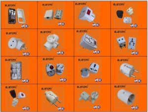 Electrical Plug Socket (P8023) pictures & photos
