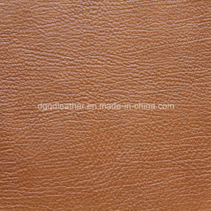 Strong Scratch Resistant Furniture Leather (QDL-53158) pictures & photos