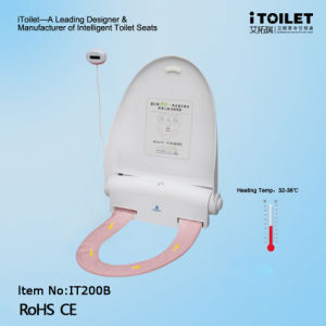 Fun Toilet Seats with Sensor and Heater for Modern Bathroom, Toilets