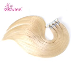 Kswig 2017 New Products Top Quality Russian Hair M Tape Weft pictures & photos