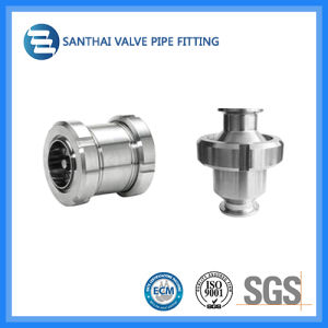 Ss304/316L Material Stainless Steel Clamped Sanitary Check Valve pictures & photos