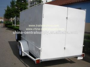Factory Made Galvanized 10X5 Cage and Box Trailer (CT0080E-5) pictures & photos