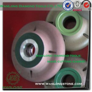 Diamond Profile Wheel 1/2 Radius-CNC Diamond Grinding Wheels for Stone Profiling pictures & photos