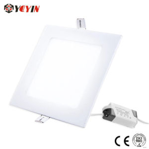 High Quality SMD LED Panel 12W Square Panel Light