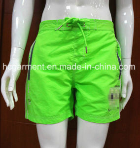 Beach Wear Solid Color Board Quickly Dry Shorts for Man′s pictures & photos