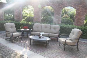 Comfortable Sofa Set Outdoor Cast Aluminum Furniture pictures & photos