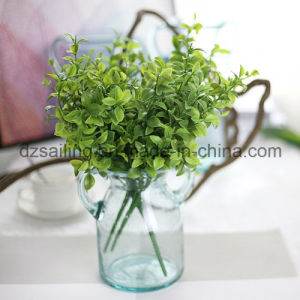 Plastic Leaves Aritificial Flower for Wedding/Home/Garden Decoration (SF16294)