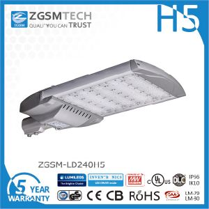 240W Dimmable LED Streetlight with Philips Lumileds Luxeon 3030 pictures & photos