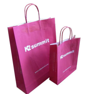 Popular Paper Packaging Bag Design Paper Bag Printing Paper Shopping Bags