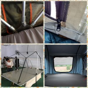 Sleeping Bag in Car Top Tent pictures & photos
