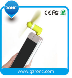 TPU Material Green Products Cooling Mini Phone Fan for iPhone pictures & photos