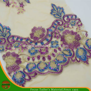 Embroidery Polyester Mesh Fabric for Garment (HAEF160013) pictures & photos