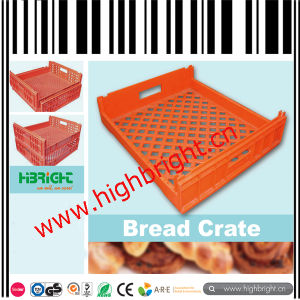 Collapsible Plastic Fruit and Vegetable Storage Crate for Farms pictures & photos