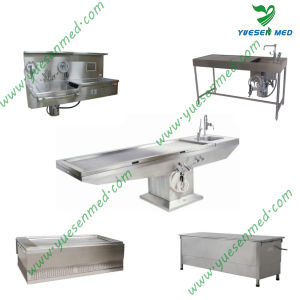 One-Stop Shopping Medical Hospital Mortuary Cadaver Table pictures & photos