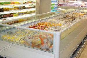 Air Cooling Commercial Supermarket Refrigerators Freezer pictures & photos