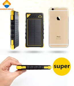 Universal Powerbank for iPhone 12000mAh Solar Charger pictures & photos
