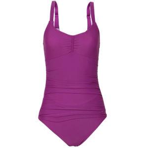 Sexy Nylon Ladies One-Piece Swimwear (SY008) pictures & photos