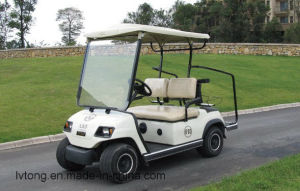 Battery Powered 2 Seaters Electric Sightseeing Car (LT_A2) pictures & photos