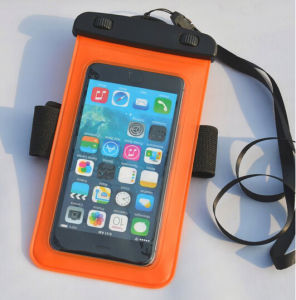 High Quality Mobile Phone Waterproof Case for iPhone 6 with Armhand