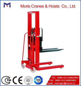 Manual Pallet Stacker with Fixed Legs pictures & photos