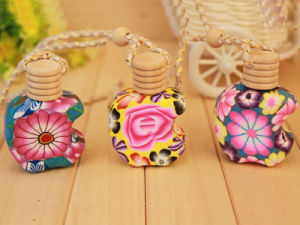 Clay Essential Oil Bottles for Car Freshener pictures & photos