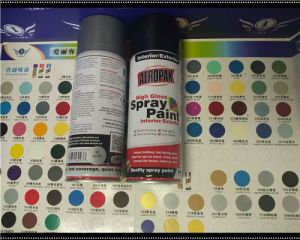 Aeropak fluorescent Chrome Effect Spray Paint pictures & photos