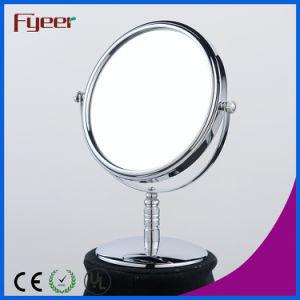 Fyeer Desktop Free Standing 8 Inch Round Makeup Mirror pictures & photos
