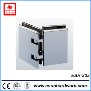 Hot Designs 180 Degree Shower Door Pivot Hinge (ESH-332) pictures & photos
