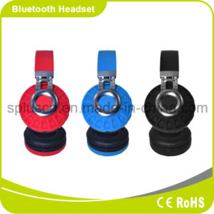Bluetooth Headband Folding Headset Wireless Headphones Portable with Mic pictures & photos