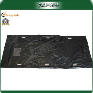 New Black PVC Die Cut Handle Body Bag pictures & photos